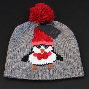 NWT Knit Penguin Beanie